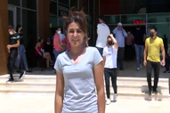 Antalya'da Melek İpek Alan Yeterlilik Testi'ne katıldı