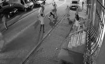 Esenyurt'ta laf atma kavgası kamerada