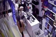Esenyurt'ta mağazadan alarm sökücüyü çaldılar