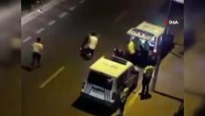 Esenyurt'ta polise zorluk çıkaran alkollü sürücü gözaltına alındı