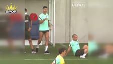 Ronaldo'dan Pepe'ye sulu şaka