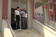 Şırnark'ta baba- kız birlikte sınava girdi