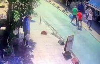 Taksim'de esnafın meydan kavgası