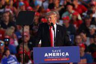Trump aylar sonra ilk kez Ohio'da miting düzenledi