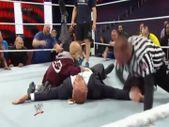 4. evre kanser hastası çocuğun güreşçi Triple H ile dövüşü