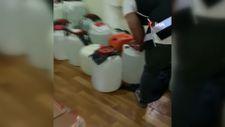 Adana'da bin 265 litre sahte içki ele geçirildi