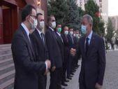 Hulusi Akar, Türkiye'nin Bişkek Büyükelçiliğini ziyaret etti