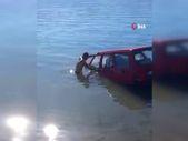 Isparta'da balık tutmaya gittiği barajdan balık yerine otomobilini çıkardı