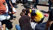 Zonguldak'ta fenalaşan şahsa polis kalp masajı yaptı