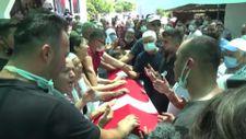 Muğla'da 'orman şehidi' törenle son yolculuğuna uğurlandı