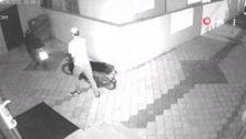 Osmaniye'de elektrikli bisikleti inceleyip çaldı