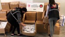 Sarp Sınır Kapısı'nda kırmızı reçeteli ilaç operasyonu