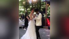 Taner Ölmez ile Ece Çeşmioğlu evlendi