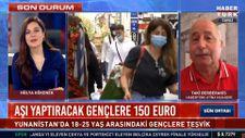 Yunanistan'da gençlere aşı olmaları için 150 euro verilecek