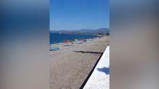 Fethiye'de plajlar boş kaldı
