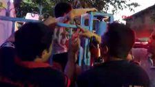 Malatya'da çocuğun koluna demir korkuluk saplandı
