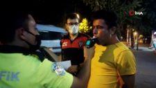 Denizli'de alkolmetreye üfleyemeyen sürücü: Ciğerim yetmedi