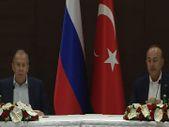 Mevlüt Çavuşoğlu ve Sergey Lavrov'dan Kanal İstanbul açıklaması