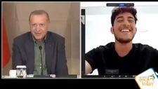 Mustafa Varank, Milli sporcuyla bilek güreşi için buluştu