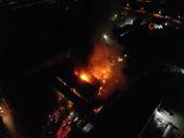 Elazığ'da bir fabrikada yangın çıktı