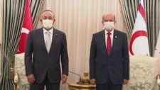 Mevlüt Çavuşoğlu, KKTC Cumhurbaşkanı Tatar ile görüştü