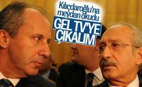 Muharrem İnce'den Kılıçdaroğlu'na televizyona çıkma teklifi