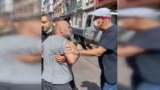Kadıköy'de esnaf ile zabıta arasında arbede