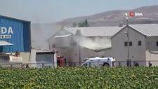 Kayseri'deki tavuk çiftliğinde çıkan yangında 10 bin tavuk telef oldu
