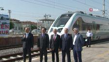 Milli elektrikli trenin son testi gerçekleşti