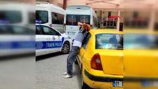 Adana'da suçüstü yakalanan korsan taksiciden polise: Yaktın beni