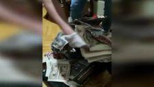 Avcılar'da babayla kızın sahte para tezgahını polis bozdu