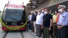 CHP'li 10 büyükşehir belediye başkanı Antalya'da raylı sistem test sürüşüne katıldı