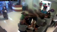 Kahramanmaraş'ta hasta yakınları güvenlik görevlilerine saldırdı