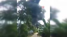 Filipinler'de askeri uçak düştü