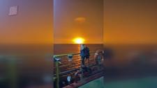 Hazar Denizi'nde büyük bir patlama meydana geldi