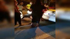 İzmir'de alkollü sürücü olay çıkardı, polis biber gazı kullandı