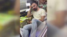 Konya'da gıda dolabı girip video çeken gence esnaf tepkili