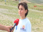 Erciyes'te maratonu karıştıran 2 kardeş, 800 metre yerine 12 kilometre koştu