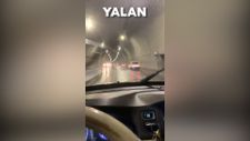 Levent Üzümcü'nün dağ olmayan yere tünel yapıldı yalanı