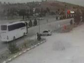 Manisa'da gazeteci habere giderken ölümden döndü