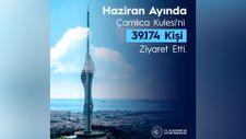 Çamlıca Kulesi'ni Haziran ayında 39 bin 174 kişi ziyaret etti
