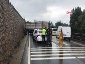 Kocaeli'deki zincirleme kazada 1 kişi yaralandı