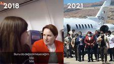 Meral Akşener'in biz özel uçaklarla uçmuyoruz açıklaması