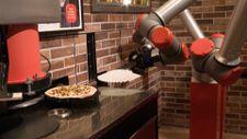 Pizzacı robot Paris'te işe başladı