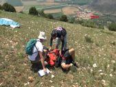Tokat'ta paraşüt kazası: Kolunu kırdı