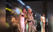 Ajda Pekkan Bodrum-Yalıkavak'ta sahneye çıktı