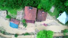 Düzce'de selin oluşturduğu tahribat, gün ağarınca ortaya çıktı