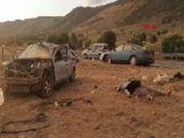 Konya'da otomobillerin çarpışmasıyla camdan fırladılar: 3 ölü, 1 yaralı