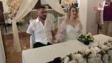 Pençe-Şimşek Harekatı gazisi, tedavi gördüğü hastanede evlendi
