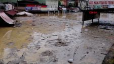 Zonguldak'ta dere taşınca 1 belde sular altında kaldı